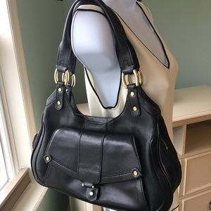 Cole Hann Paige leather satchel purse